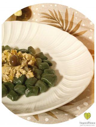 Gnocchetti di spinaci con ragù bianco di muscolo di grano