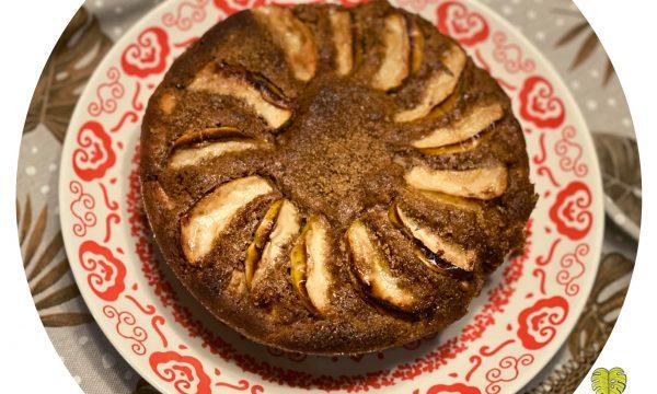 Torta alle mele renette con grano saraceno (senza zucchero)