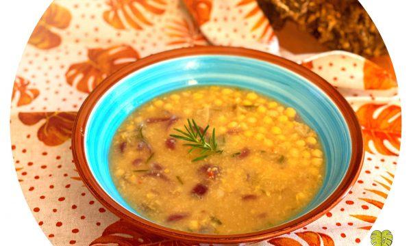 Zuppa di ceci e seitan