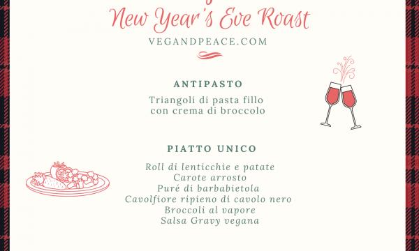 Menù di fine anno vegano – New Year's Eve Roast