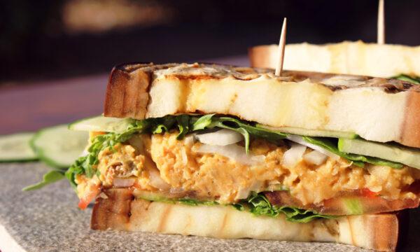 Sandwich di melanzana