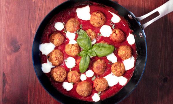 Polpette di tofu – Tofu curry balls