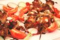 Kebab vegano di funghi